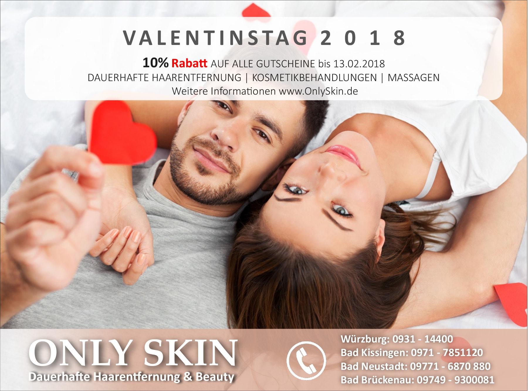 VALENTINSTAG 2018 - 10% RABATT