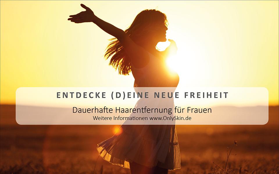 DAUERHAFTE HAARENTFERNUNG FÜR FRAUEN - ENTDECKE (D)EINE NEUE FREIHEIT